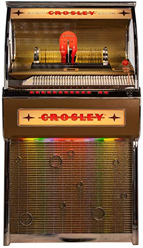 Rocket Full Size CD Jukebox with Bluetooth - Holds 80 CDs
