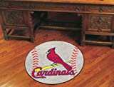 Fanmats Sports Team Logo MLB - St Louis Cardinals Baseball Mat