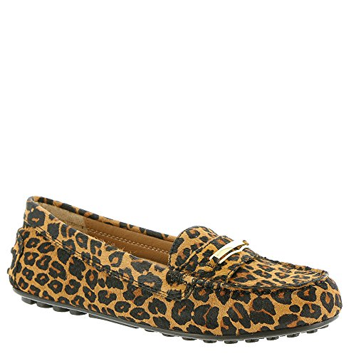 Vionic Womens Ehre Ashby Loafer Tan-Leopard