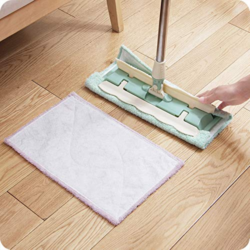 Bling 2pcs Mop Replacement Cloth Household Absorbent mop Cloth Flat mop Head Accessories Flat Mooring mop