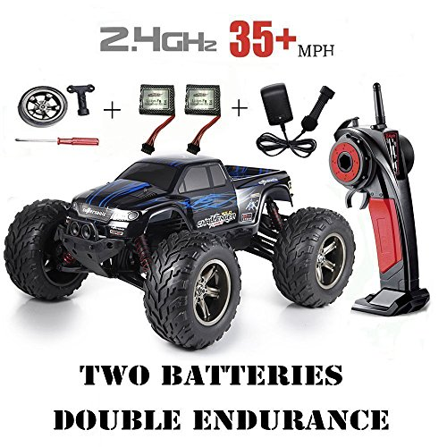 Red-kid 1/12 Scale 2.4Ghz Radio Controlled 2WD Off road Drift Cars 33+MP/h With 2 batteries Blue