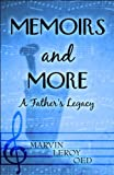 Memoirs and More, Marvin Leroy Oed, 1607493543