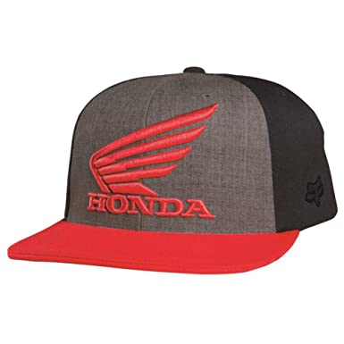 reputable site b1454 37034 ... aliexpress honda motorcycle officially licensed fox premium mens  flexfit hat cap charcoal heather small 012a9 c67d7