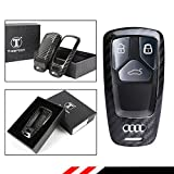 LUXURY REAL CARBON FIBER CASE COVER FOR 2017 2018 AUDI A3 A4 A5 A6 A7 S3 S4 S5 S7 Q3 Q5 Q7 RS SMART KEY FOB