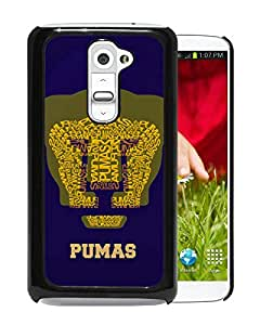 For LG G2,UNAM Pumas 1 Black Protective Case For LG G2