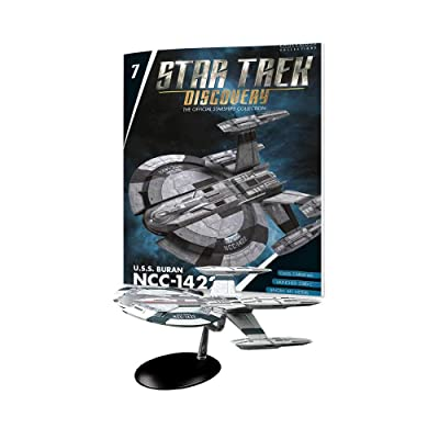 Eaglemoss Star Trek Discovery The Official Starships Collection #7: USS Buran NCC-1422 Ship Replica: Toys & Games