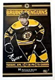Johnny Boychuk Boston Bruins Signed Autographed Game Day Roster Poster 11x17 A
