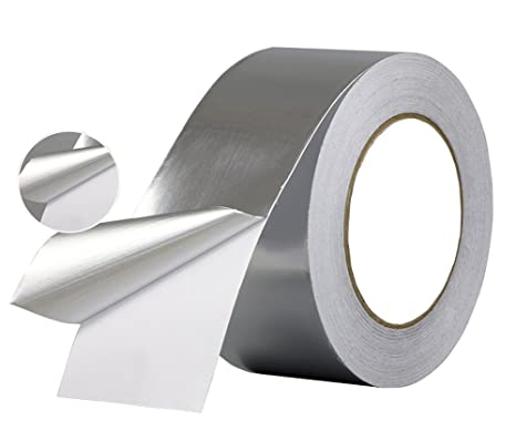 Aluminum Foil Tape- best for HVAC, Ducts, Insulation and Heavy Duty  Aluminum Foil Tape Thickness 2 4mil and 6 mil, Kaifa (2 0 inch wide x 33  yards