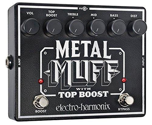 Electro-Harmonix Metal Muff Distortion with Top Boost Guitar Effects Pedal 【TEA】 [並行輸入品] B07FRWS9XG
