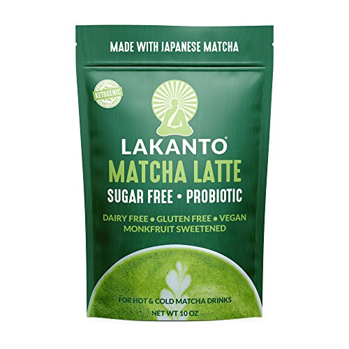 Lakanto Matcha Latte Drink, 1 Net Carb,10 Ounce ()
