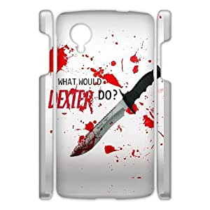 Google Nexus 5 Phone Case White Dexter-Blood WQ5RT7430162