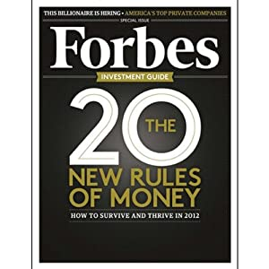 Forbes, November 21, 2011 Periodical