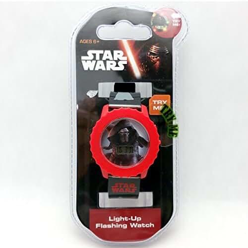 Star Wars Kid's SWM3062 Kylo Ren Episode VII Light Up Watch