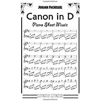 Pachelbel's Canon in D Piano Sheet Music