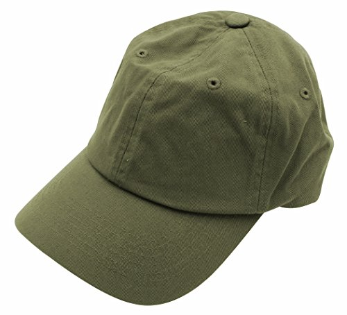 Cotton Army Cap Olive - 7