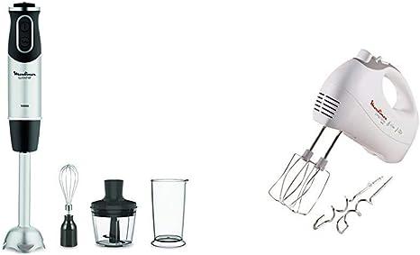 3 Accessori Bianco Moulinex DD6558 Quickchef 3in1 Mixer ad Immersione 450 W 1000 W /& Prep/'Line Sbattitore prepline 5 velocit/à 450w hm410 Pentole Cucina Tecnologia Powelix