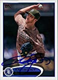 Signed Bass, Anthony (San Diego Padres) 2012 Topps Baseball Card autographed