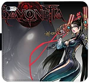 Grouden R Create and Design Folio Case,45701 bayonetta Leather Wallet Cell Phone Case for iPhone 6 6S 4.7 inch,GHL-1682756
