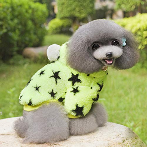 Fleece Dog Clothes Winter Dog Jacket Clothes Dogs Pets Clothing Small Dogs Costume Pet Products C