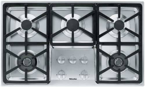 Miele KM3474G 36 Stainless Steel Gas Cooktop
