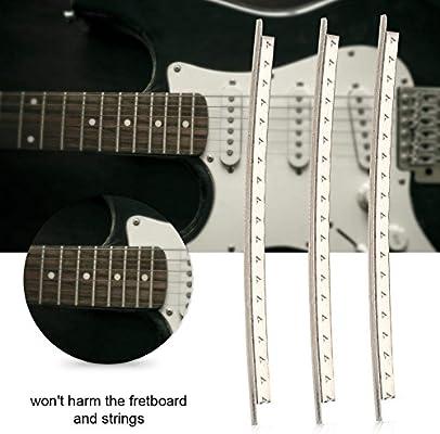 Drfeify 24 Piezas de Guitarra de Cobre Traste de Alambre de 2.2 mm ...