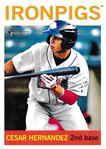 2013 Topps Heritage Minor Leagues #166 Cesar Hernandez MLB Baseball Card NM-MT