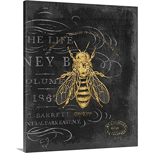 (Chad Barrett Solid-Faced Canvas Print Wall Art Print Entitled Honey Bee 20