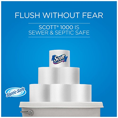Large Product Image of Scott 1000 Sheets Per Roll Toilet Paper, Bath Tissue