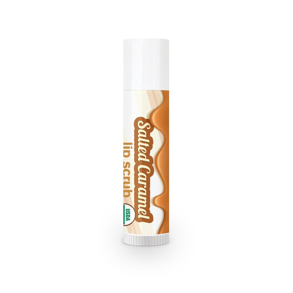 TREAT Jumbo Lip Scrub - Salted Caramel, Organic & Cruelty Free (.50 OZ)