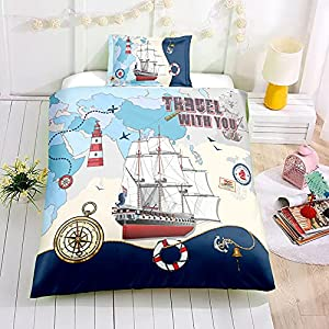51i0I9MMc2S._SS300_ Pirate Bedding Sets and Pirate Comforter Sets