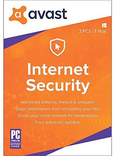 Avast! Internet Security 2018, 1 PC, 1 Year [Key Card]