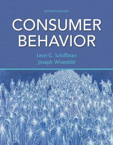 Consumer Behavior (11th Edition)