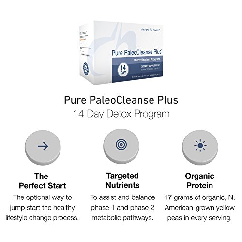 Designs for Health - Pure PaleoCleanse Plus 14 Day Detox Program - Bone Broth Protein + Green Tea + Alkalizing Vegetables for Liver Support, 28 Packs by designs for health (Image #2)