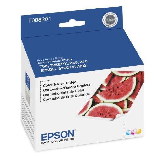 Epson Inkjet Cartridge (Color) (T008201) (Epson Stylus Photo 870)