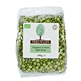 Tree of Life Organic Green Split Peas - 500g (1.1lbs)