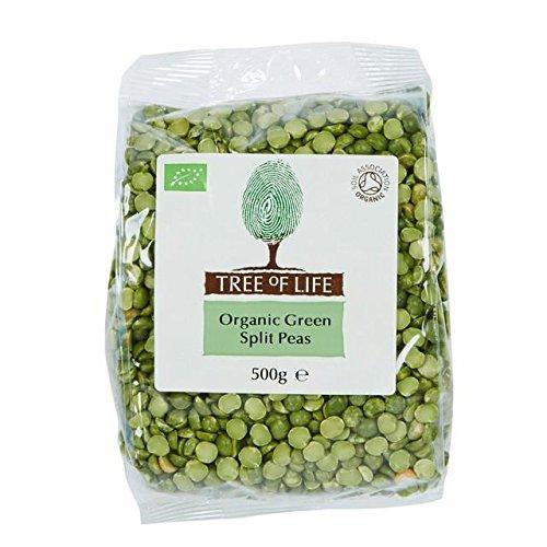 Tree of Life Organic Green Split Peas - 500g (1.1lbs) by Tree of Life