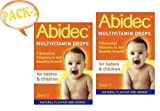 Abidec Multivitamin Drops for Babies & Children 25ml - 2 (Twin) Pack