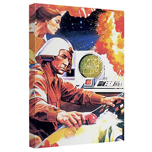 Price comparison product image Atari Missile Command Canvas Wall Art With Back Board