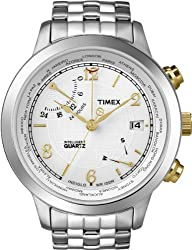 Timex World Time White Dial Men's watch #T2N613
