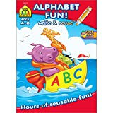 Alphabet Fun Write and Reuse Workbook Ages 4-6 (Paperback)