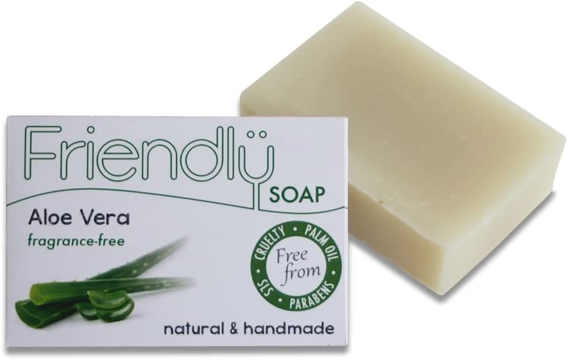 Friendly Soap Natural Handmade Aloe Vera Soap