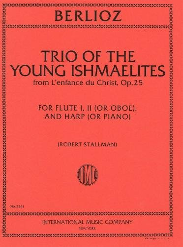 Trio of the Young Ishmaelites Op.25 (2 Fl or Fl & Ob and Pno or Harp) (Pno Trios)