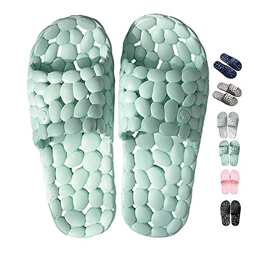 Massage Beach Open Women's Summer Share Indoor Shower Toe Shoes Home Unisex Green Spa Maison Slippers Men's PgxqRvw