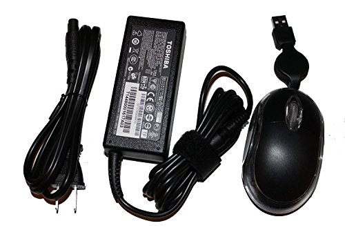 Genuine Brand New Toshiba 19V 3.42A 65W AC Adapter For Toshiba Laptop Models: Toshiba Satellite S855D-S5253, PSKAYU-00S002, Toshiba Satellite S855D-S5256, PSKAYU-00K002, Toshiba Satellite S855D-SP5261LM, Toshiba Satellite S855D-SP5262LM, Toshiba Satellite S855D-SP5365LM. Bundle - 3 items: Genuine Brand New Toshiba 19V 3.42A 65W AC Adapter, ElecPower® Power Cord and ElecPower® Optical Mouse - Grey. 100% compatible with Toshiba Part Number: PA3917U-1ACA, PA-1650-81, PA-1650-21, PA3714U-1ACA, PA3467U-1ACA, PA3822U-1ACA, PA3468U-1ACA, PA3715U-1ACA, PA3097U-1ACA, PA3396U-1ACA, PA3165U-1ACA, PA3467E-1AC3, SADP-65KB B, PA5034U-1ACA, PA5044U-1ACA, PA5096U-1ACA, PA5082U-1ACA (Mouse Laptop Computer Toshiba)