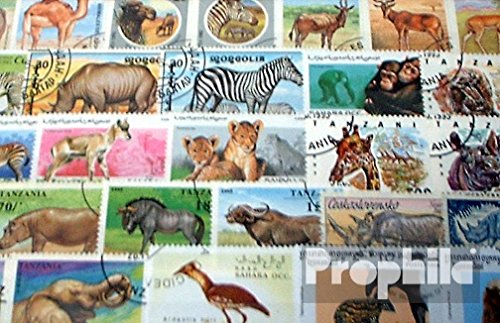 Africa 150 Different African Animals Stamps (Stamps for Collectors) Mammals Other
