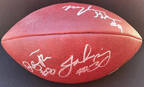 - ROSE BOWL Jake Browning Myles Gakin Signed WASHINGTON HUSKIES Football PROOF