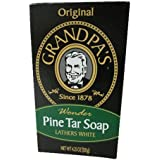 Grandpa's Soap Co. Soap Pine Tar 4.25 Ounces
