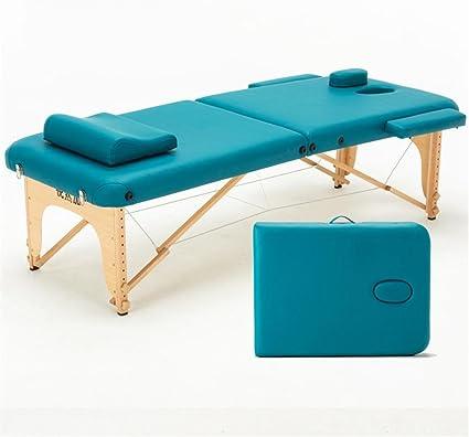 Camilla de Masaje Profesional Portátil Plegable Mesa de masajes ...