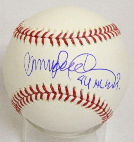 Nl Mvp Mlb Baseball - Ryne Sandberg Signed Official MLB Baseball w/84 NL MVP - Schwartz COA