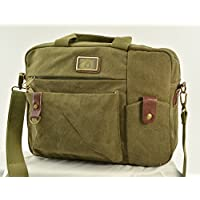 Canvas Business Bag by Camille Conceals - Concealed Carry for Semi-Auto or Revolver as well as your Tablet or Laptop! Ideal for Women or Men